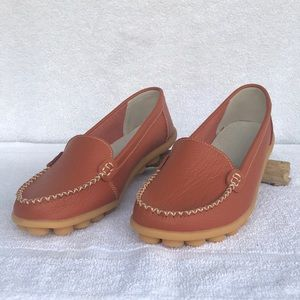 Shoes - Leather loafers shoes NWOT